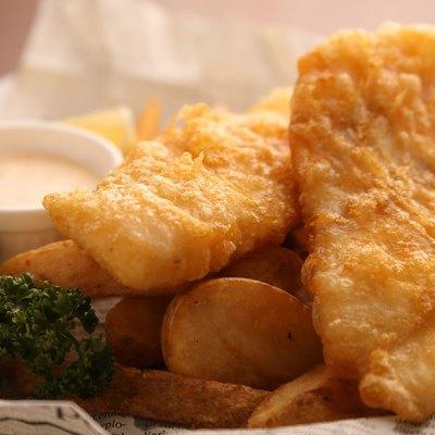 旬の鮮魚フィッシュ&チップス