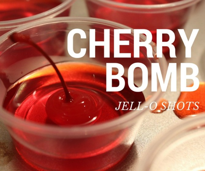 Enjoy Fireball Jell-O shots