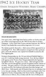 1942 AHS Ice Hockey Team