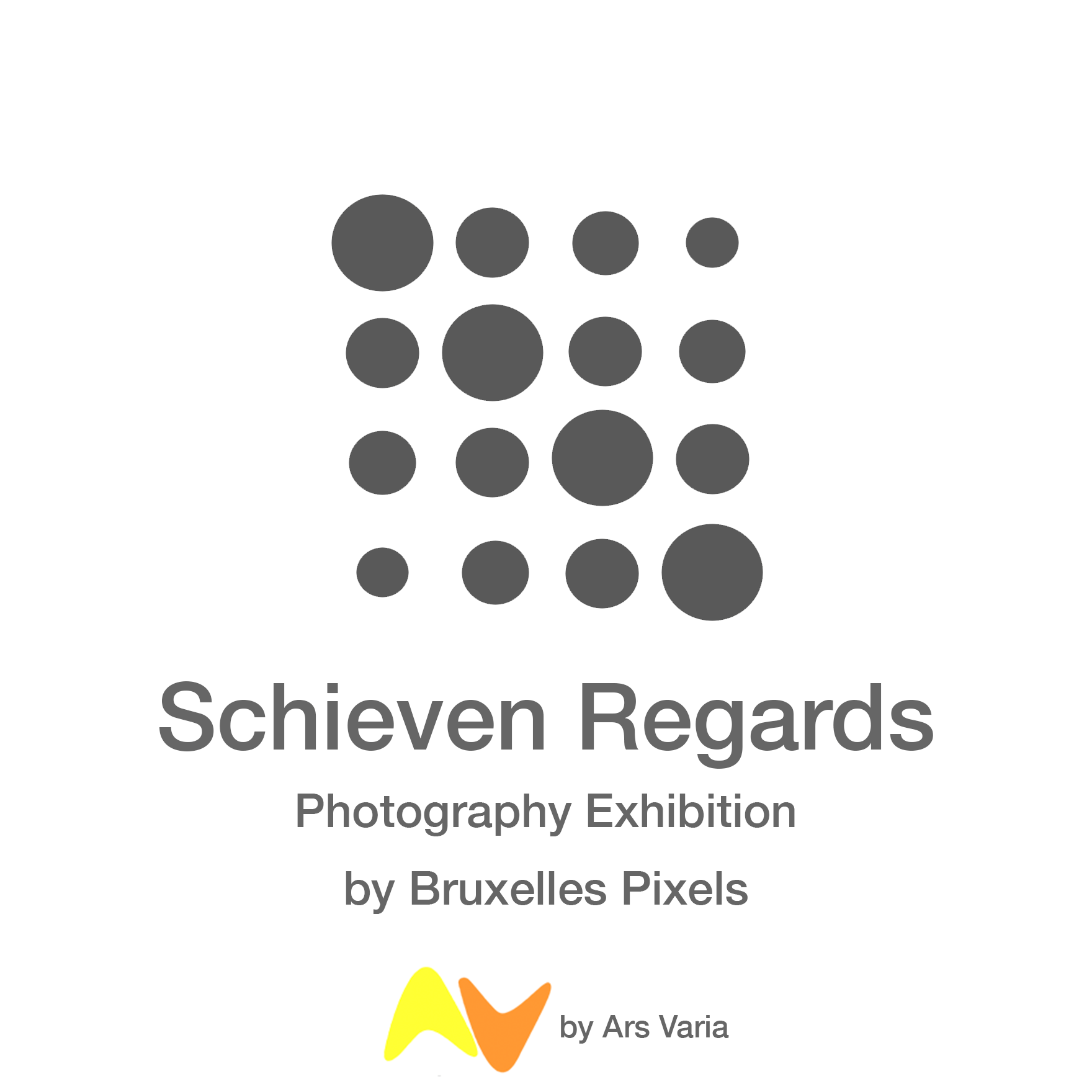 """""""Schieven Regards"""" a photography exhibition by Brussels Pixels, Oct 2018"""