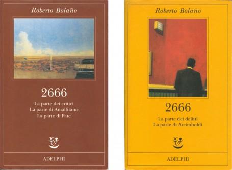 Le copertine dei libri pubblicati da Adelphi