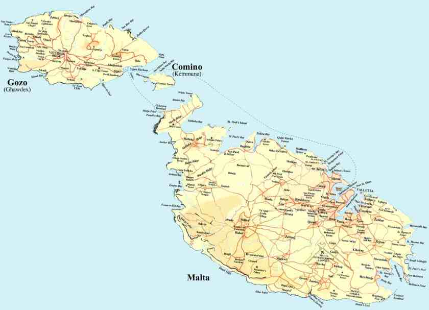 The islands of Malta