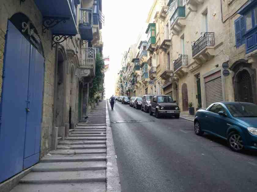 Typical Valletta street