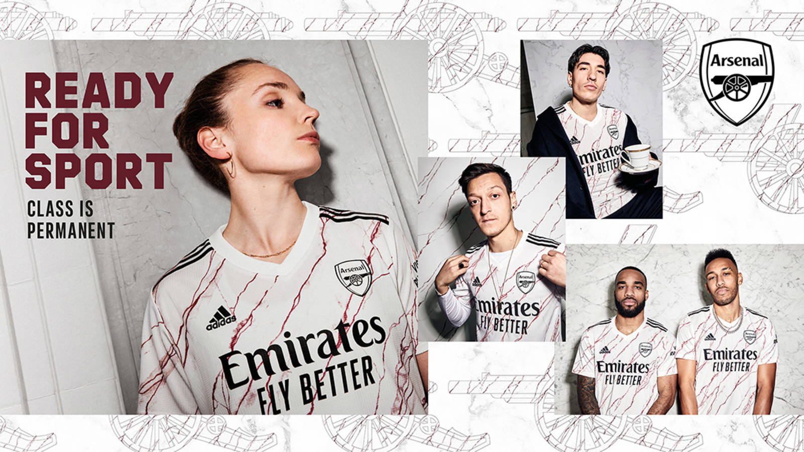 the new adidas x arsenal away kit