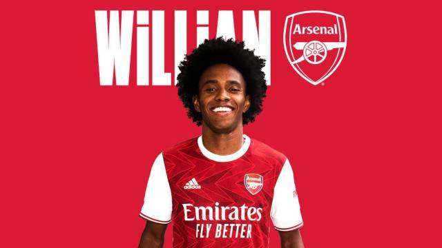 Willian announcement graphic