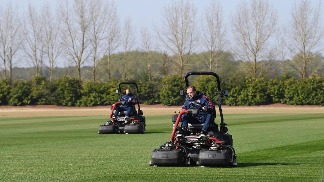 work continues at colney