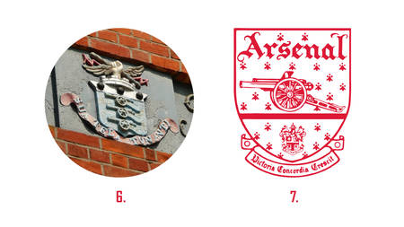 the arsenal crest history news