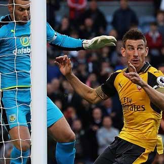 Report: Arsenal 2-1 Burnley