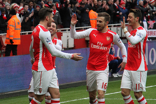 Cazorla and Theo still out – 4-2-3-1 Arsenal v Burnley predicted line-up