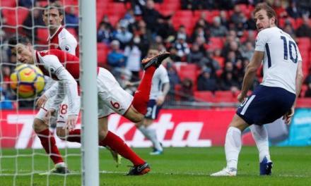 Match report: Tottenham 1-0 Arsenal