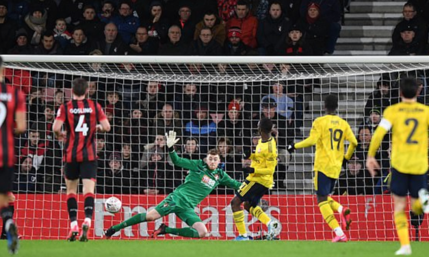 AFC Bournemouth 1-2 Arsenal – FA Cup 4th Round Result
