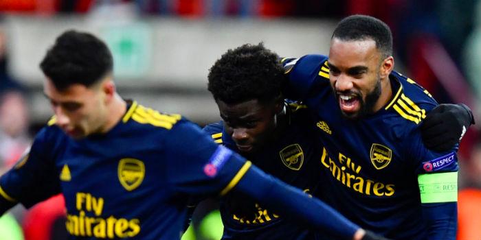 A Laca / Saka Goal Combo Completes Comeback – Liege 2-2 Arsenal