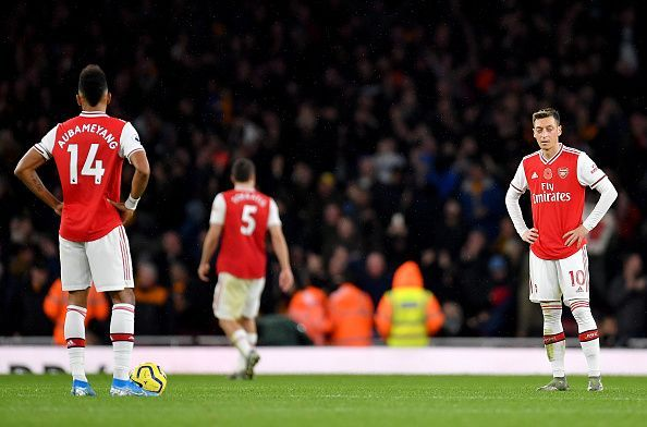 Arsenal 1-1 Wolves, yet more dropped home points