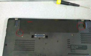 Reset Battery CMOS Notebook Lenovo X240