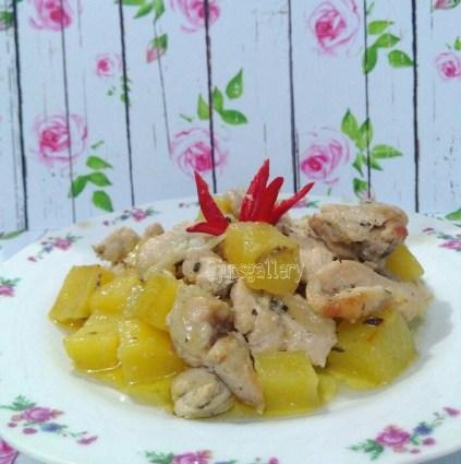 Ayam Fillet Panggang Kentang