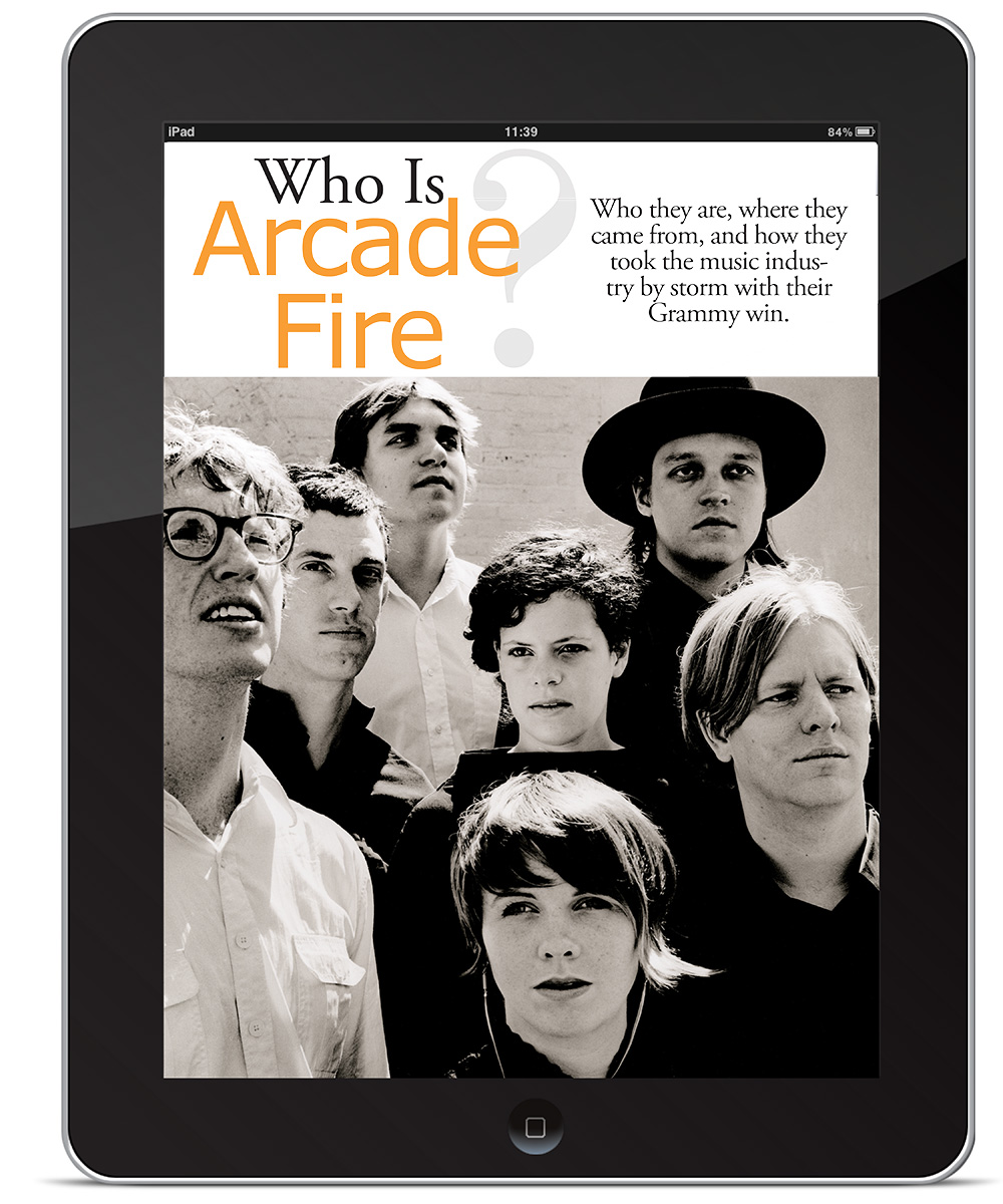 Arcade Fire Spread
