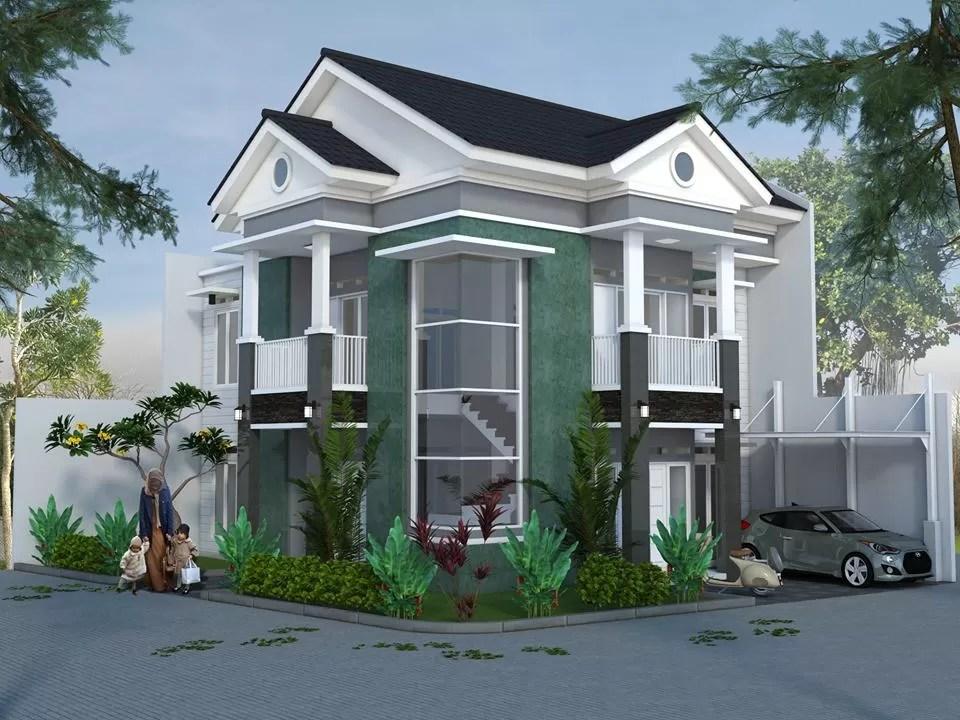 880+ Gambar Desain Rumah Hook 2 Lantai Paling Keren Download