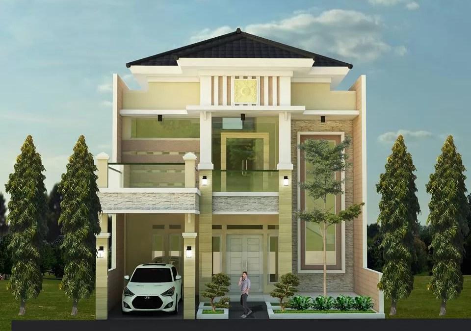 Desain Rumah Mewah Klasik Bpk Robert