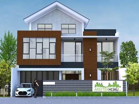 Desain Rumah Mezzanine Pak Morris