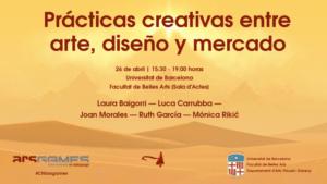 Prácticas Creativas entre arte, diseño y mercado