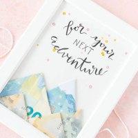 Geldgeschenk für Abenteurer basteln
