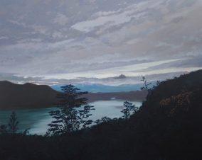 Olivier Masmonteil Le paysage nu Huile sur toile 160 x 200 cm Courtesy Galerie Dukan © Hugo Miserey