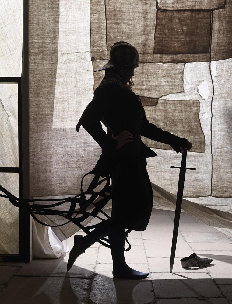 Charles Fréger Jeanne au sacre série L'Epopée de Jeanne d'Arc, 2016 Courtesy de l'artiste Coll. Evelyne Deret