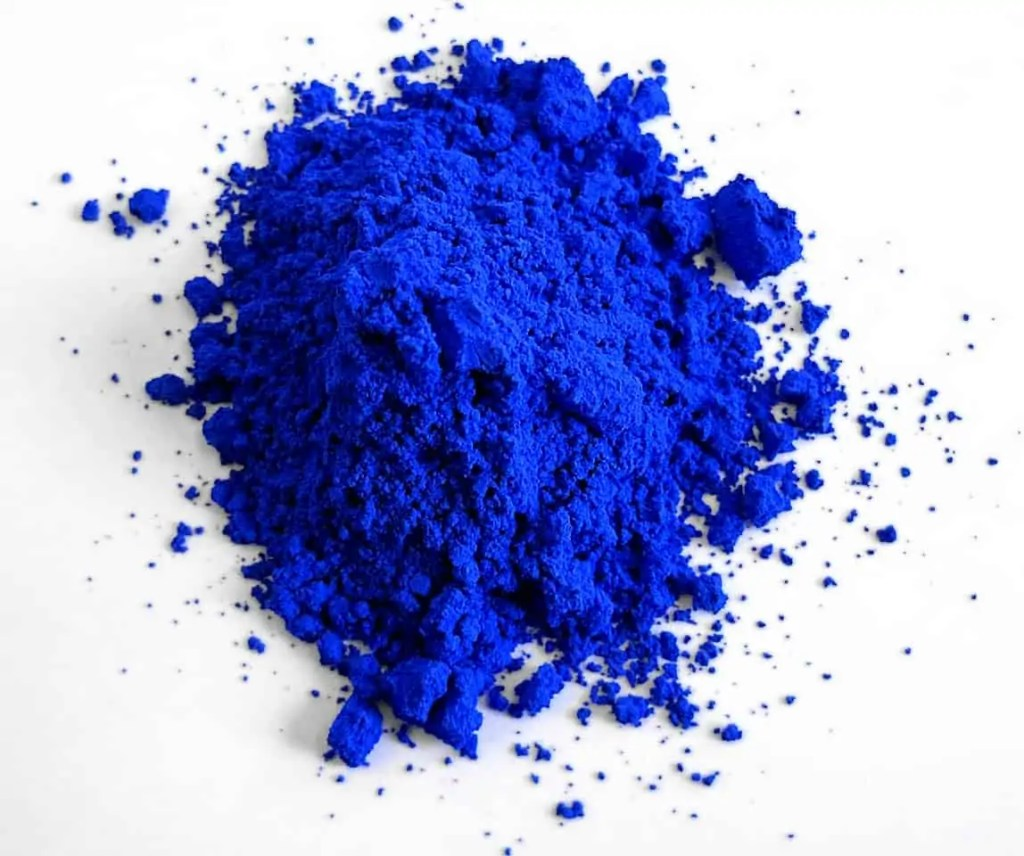 Powder YInMn Blue pigment Art World Roundup