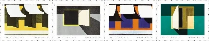 USPS stamp series featuring works by Emilio Sánchez Art World Roundup