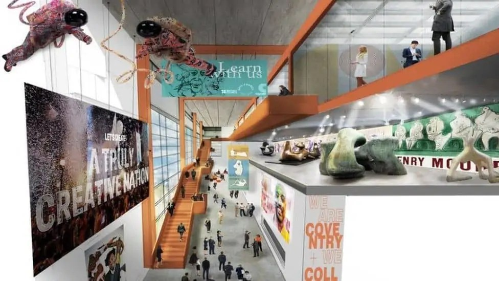 Coventry plans to reimagine a former IKEA building into a major cultural centre