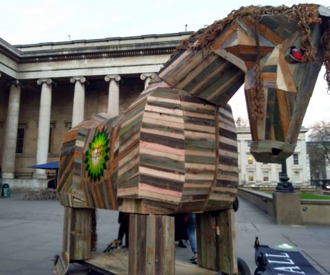 British Museum staff back weekend protestors who used a Trojan Horse to call for BP ties to be cut