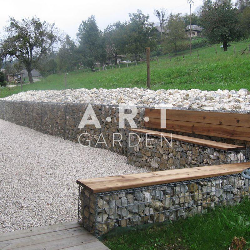 mur de soutenement gabion configurer
