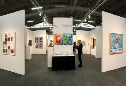 art fair booth