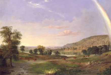 Landscape with Rainbow (1859) thumbnail