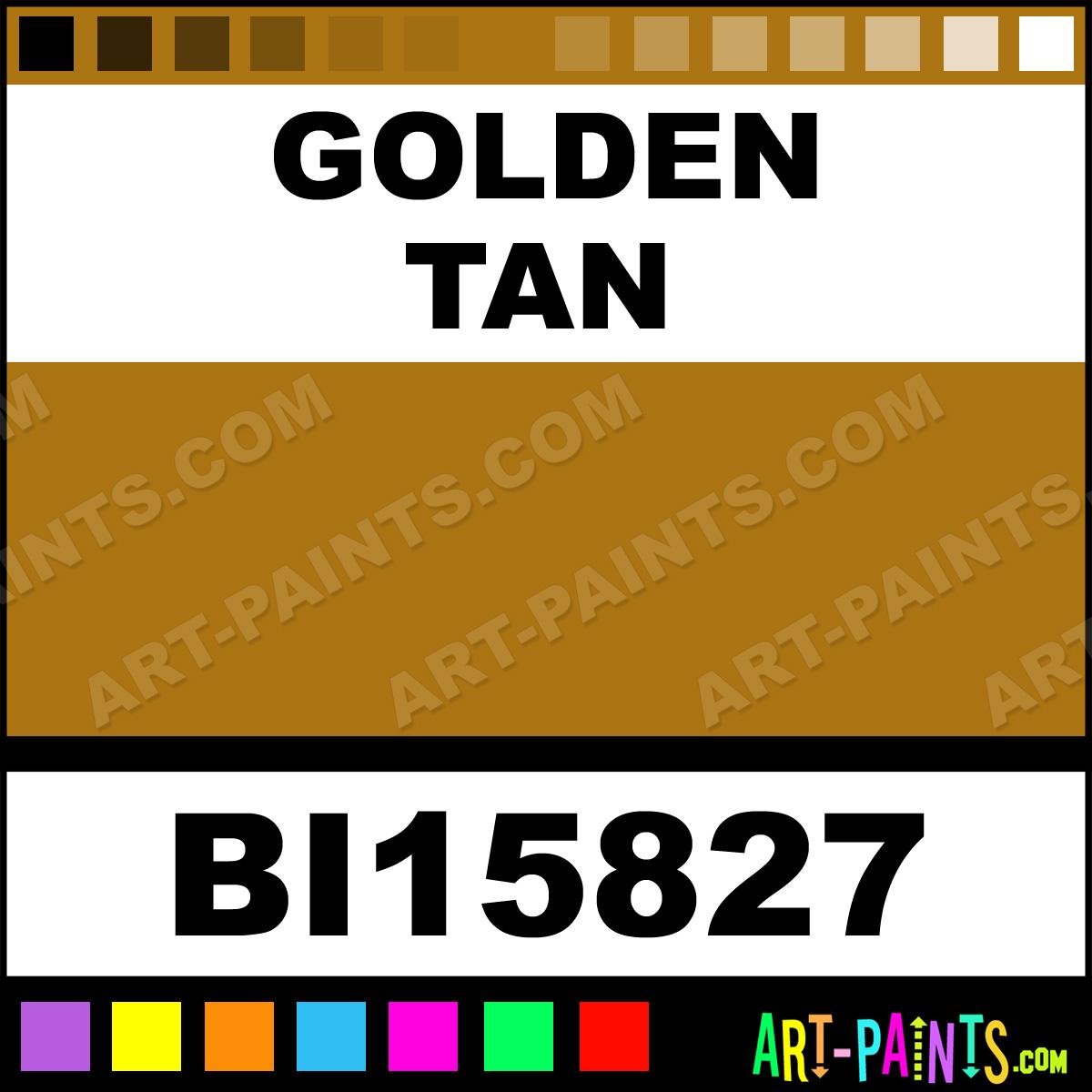Golden Tan Paint Colors