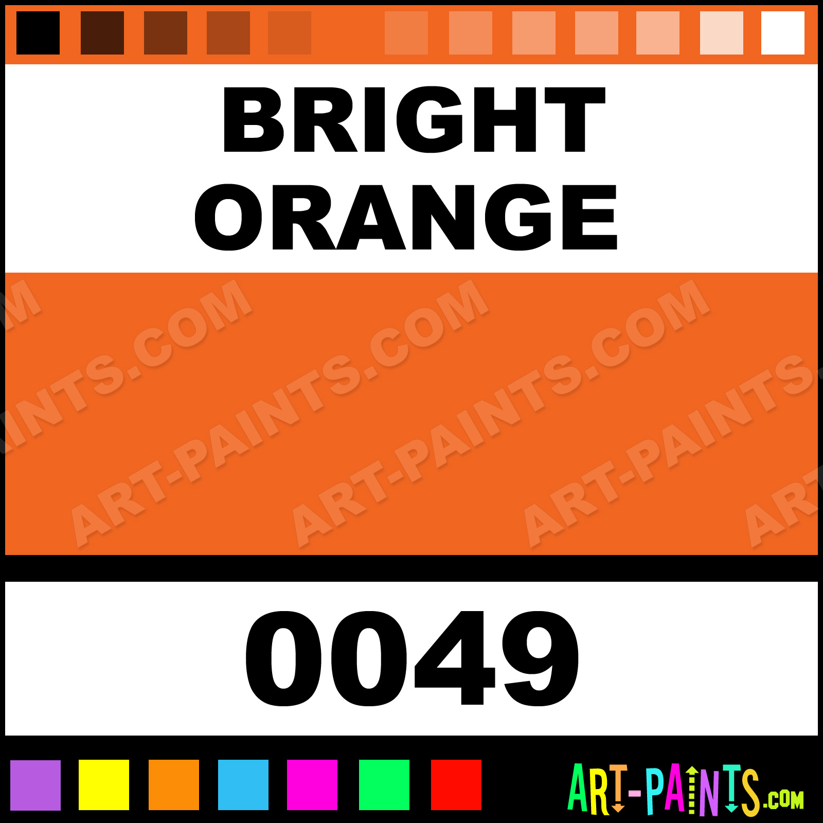 Code Color Rgb Orange Bright