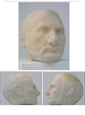 Sandsteinskulptur Peter - 2001