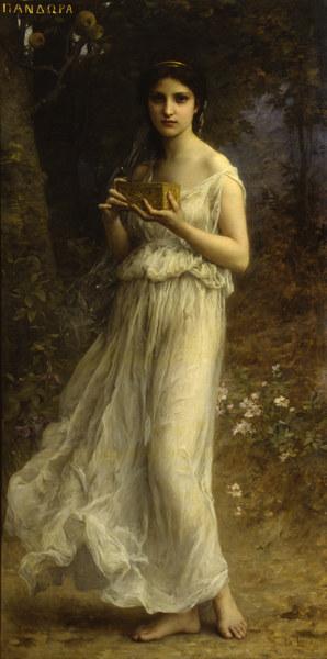 Charles Amable Lenoir - Pandora, 1902.