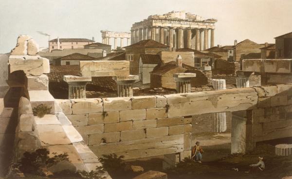 Image: Edward Dodwell - Athens , Parthenon