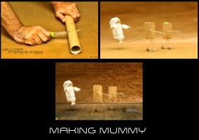 MAKING MUMMY