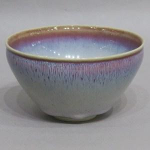 板谷波山 天目茶碗