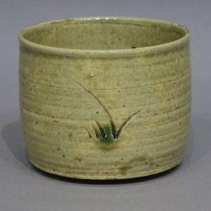 北大路魯山人 黄瀬戸半筒茶碗