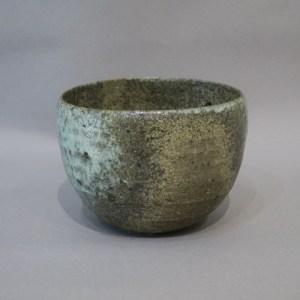 加守田章二 灰釉茶碗-2