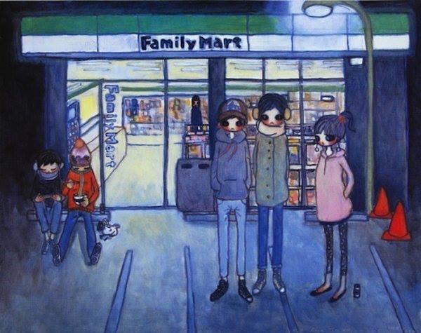 Aya Takano, Convenience Store (2006)