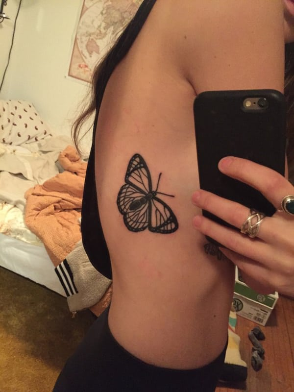a6948f019b1e2 150 Butterfly Tattoo Designs That Ll Have You In A Flutter Tattoo