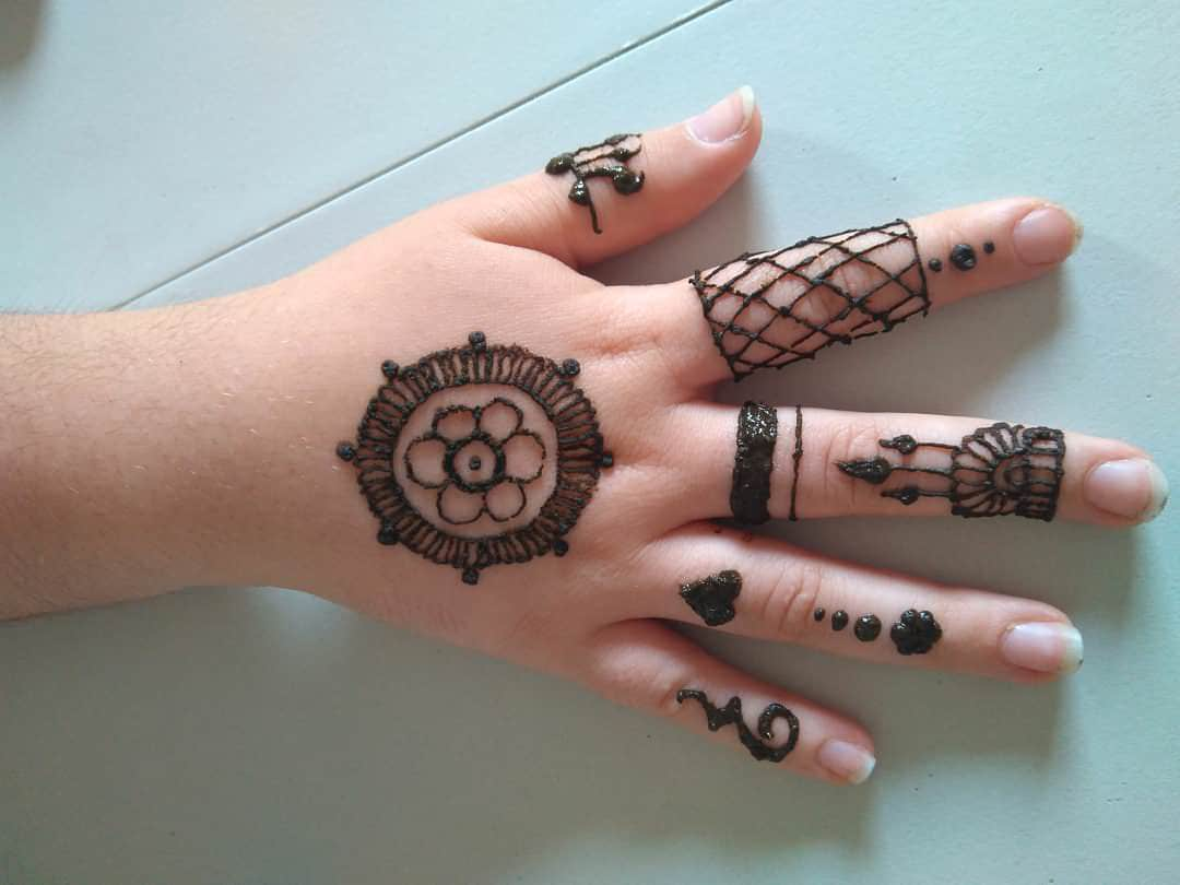 Small Henna Tattoo Designs For Hands - Drawing Apem
