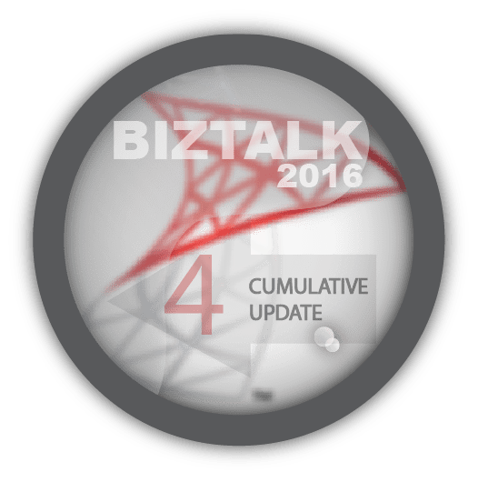 Cumulative Update 4 Microsoft BizTalk Server 2016