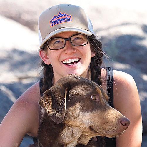 Camille Kintzele, river guide for ARTA River Trips