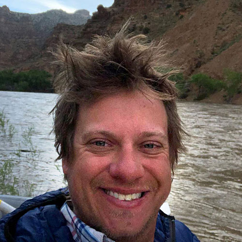 Scotty Ewen, river guide for ARTA River Trips