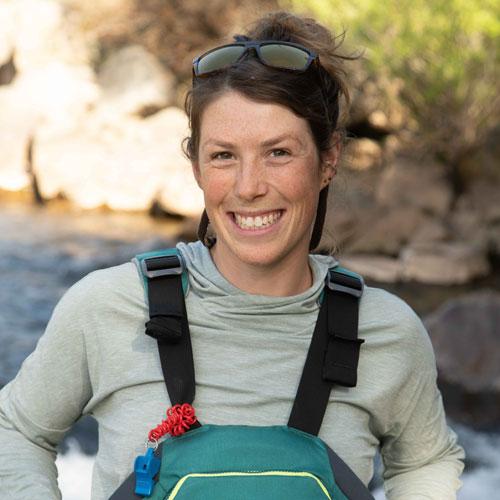 Alia Payne, river guide for ARTA River Trips